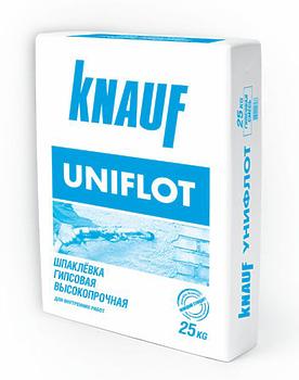 Шпаклевка Унифлот Кнауф высокопрочная 25 кг