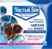 Тесто брикет от крыс (аналог Крысиная смерть №1)