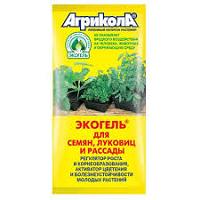 Экогель для семян луковиц и рассады.