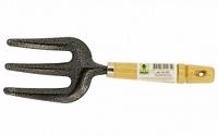 Вилка-рыхлитель с деревянной ручкой