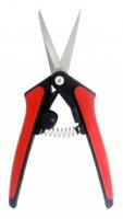 Ножницы секатор с упорной пружиной и фиксатором