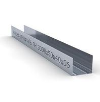 Профиль направляющий 50х40х3000 0.6 мм Кнауф