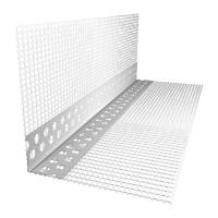 Уголок ПВХ перфорированный с сеткой 10х15 3 м