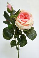 Роза британия 2 цветка розовая
