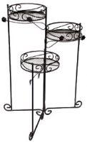 Подставка для кашпо декоративная тройная