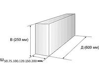 Блоки (газосиликатные) 250х300х600мм