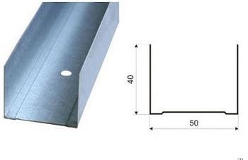 Профиль направляющий 50х40 0.55 мм