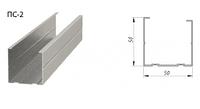 Профиль стоечный 50х50 0.55мм 3м