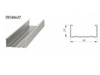 Профиль потолочный 60х27 0.55 мм 3м