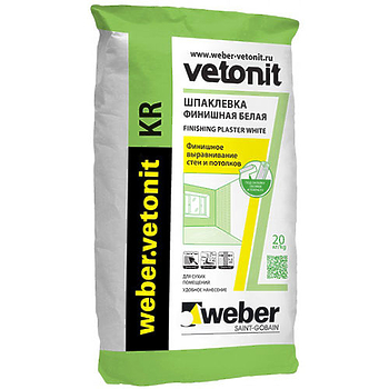 Шпаклевка Ветонит КР (Vetonit КР) финишная 20 кг