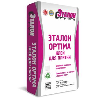"""Клей плиточный """"Эталон Optima"""" 25кг"""