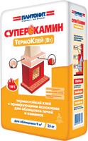 Плитонит СуперКамин ТермоКлей для облицовки печей и каминов 25кг