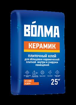 Плиточный клей ВОЛМА КЕРАМИК 25 кг
