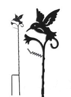 Поддержка для растений Птица