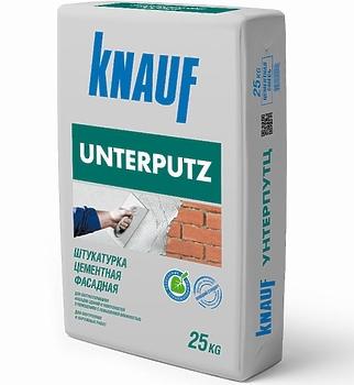 Унтерпутц Кнауф цементная штукатурка 25 кг
